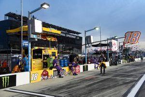Boxenplatz: Kyle Busch, Joe Gibbs Racing