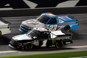 Hailie Deegan, Team DGR, Ford F-150 Monster Energy, Chase Purdy, GMS Racing, Chevrolet Silverado BamaBuggies.com