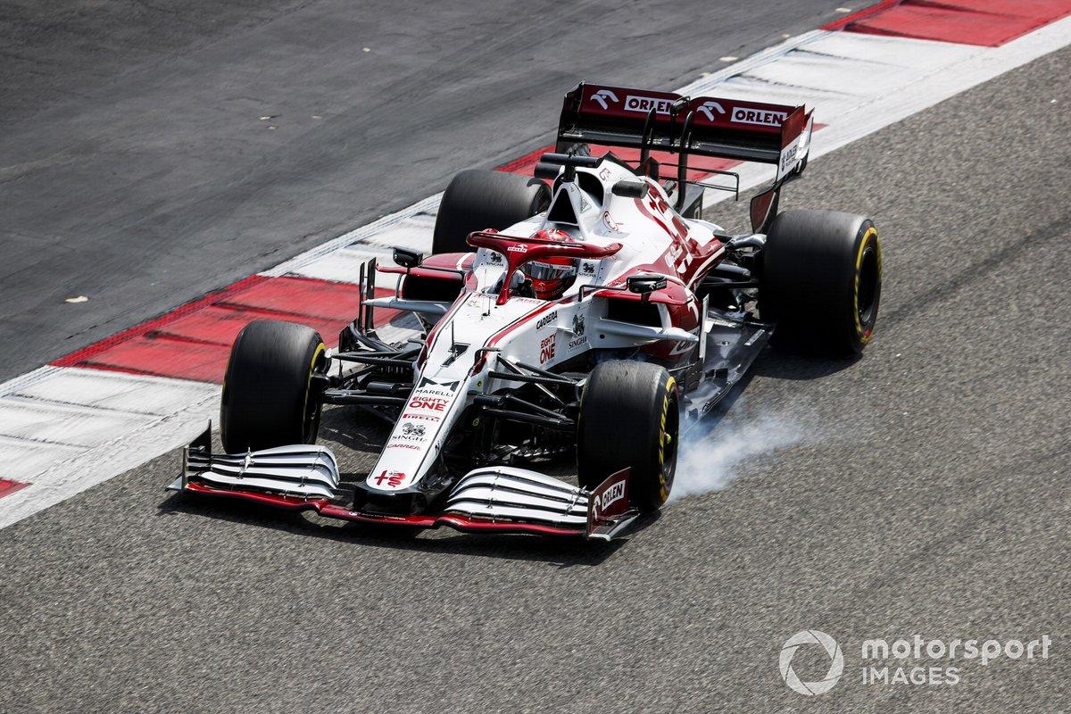 4º Kimi Raikkonen, Alfa Romeo Racing C41, 1:29.766 (con neumáticos C5)