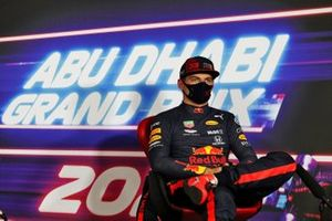 Pole man Max Verstappen, Red Bull Racing, in the Press Conference