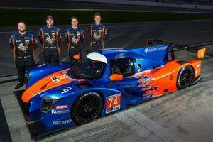 Felipe Fraga e esquadrão da Riley Motorsports