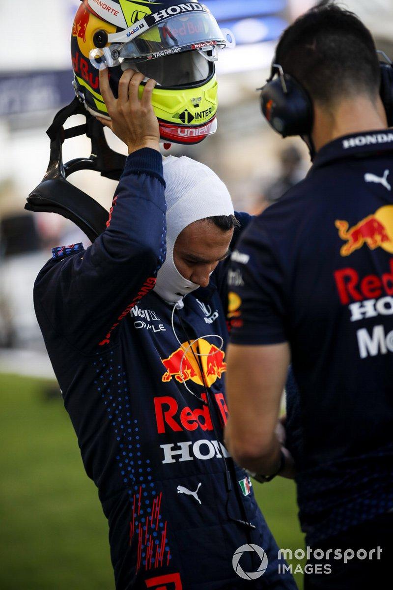 Sergio Pérez, Red Bull Racing en la parrilla