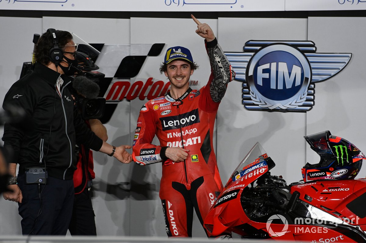 GP del Qatar 2021 - Francesco Bagnaia, Ducati Team