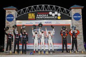 Podium LMP3: #54 Core Autosport Ligier JS P320, LMP3: George Kurtz, Colin Braun, Jonathan Bennett, #74: Riley Motorsports Ligier JS P320, LMP3: Gar Robinson, Scott Andrews, Spencer Pigot, #91: Riley Motorsports Ligier JS P320, LMP3: Jeroen Bleekemolen, Jim Cox, Dylan Murry