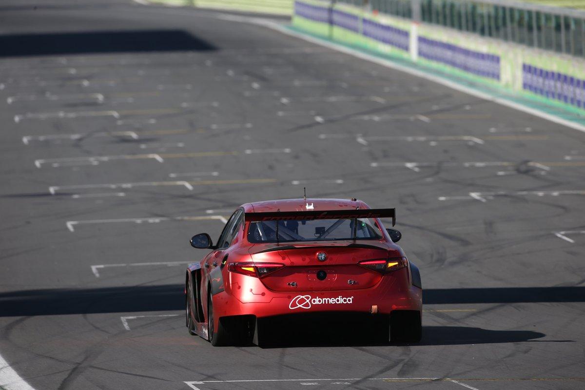 Mario Ferraris, Stefano Coletti, Romeo Ferraris, Alfa Romeo Giulia ETCR