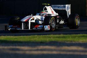 Sergio Perez, Sauber C30 Ferrari