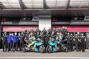 L'équipe Petronas Yamaha SRT