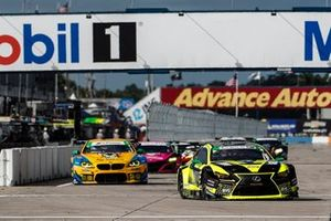 #14 AIM Vasser Sullivan Lexus RC-F GT3, GTD: Jack Hawksworth, Aaron Telitz, Kyle Kirkwood, #96 Turner Motorsport BMW M6 GT3, GTD: Robby Foley III, Bill Auberlen, Dillon Machavern
