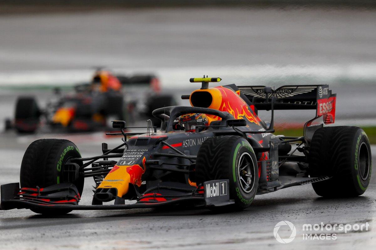 Alex Albon, Red Bull Racing RB16, Max Verstappen, Red Bull Racing RB16