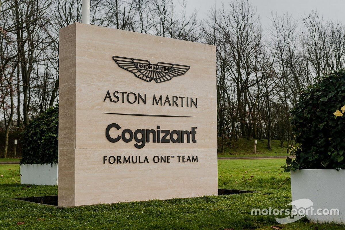 Equipo Aston Martin