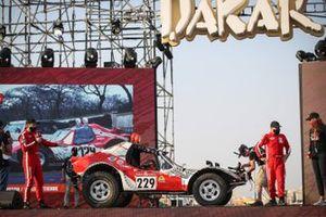 #229 Team Sunhill Buggy: Marc Douton, Emilien Etienne