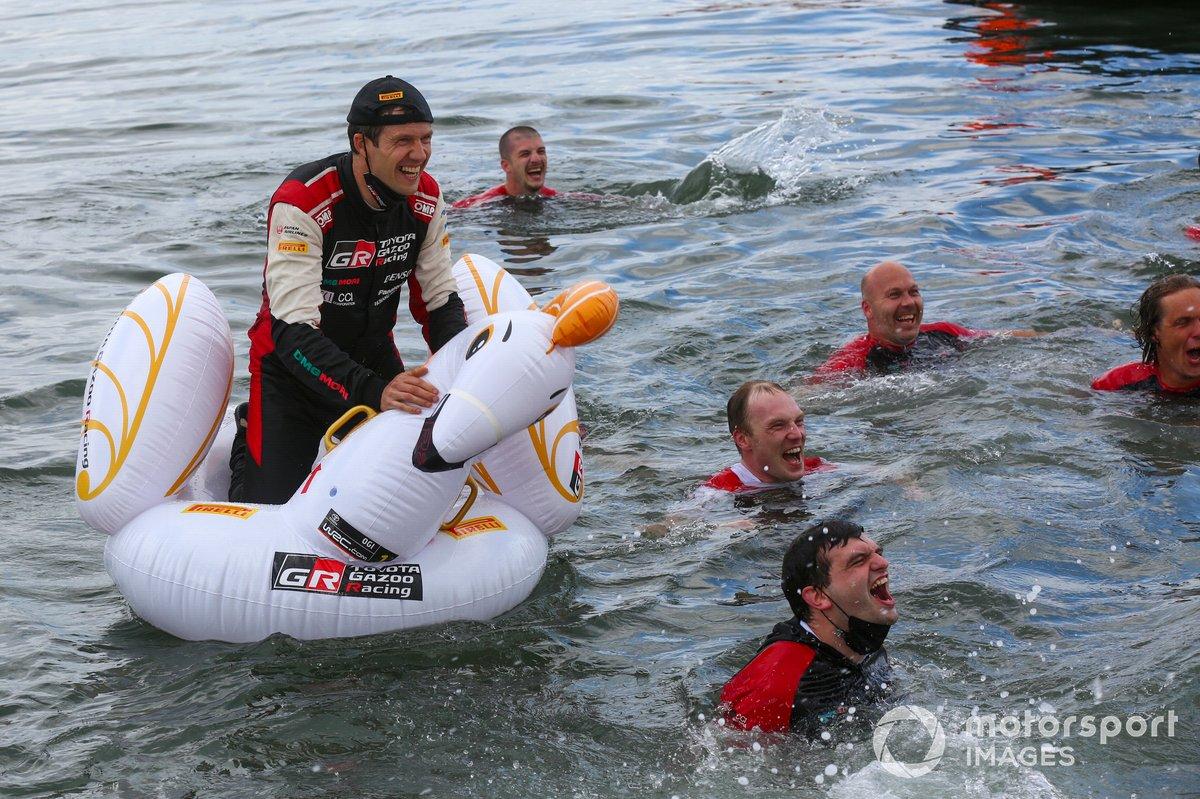 Sébastien Ogier, Toyota Gazoo Racing con el equipo