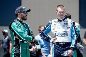 Ryan Preece, JTG Daugherty Racing, Chevrolet Camaro Cottonelle and Ross Chastain, Chip Ganassi Racing, Chevrolet Camaro Clover