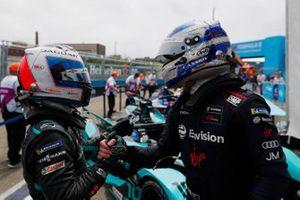 1. Sam Bird, Jaguar Racing, 2. Mitch Evans, Jaguar Racing