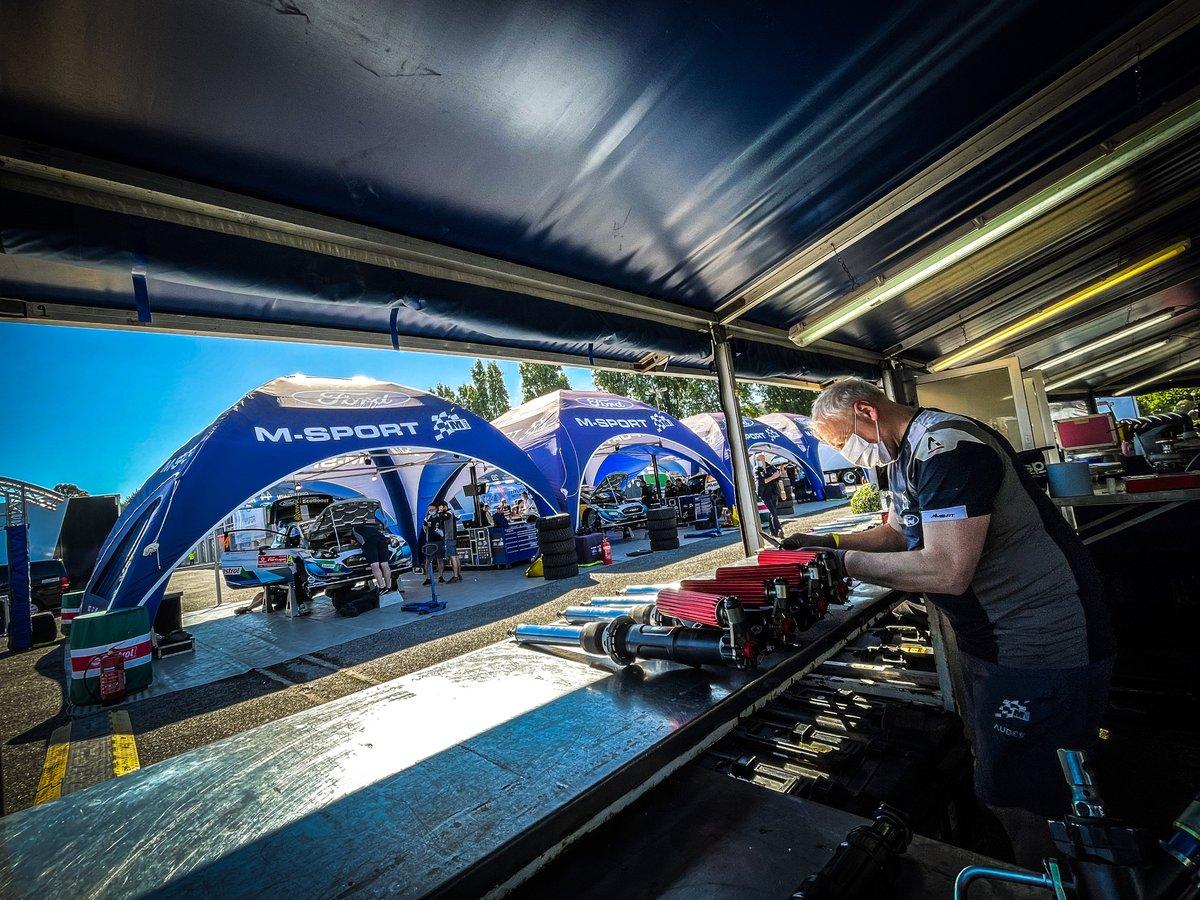 Área del equipo M-Sport Ford WRT