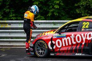 Frédéric Vervisch, Comtoyou Team Audi Sport Audi RS 3 LMS after the crash