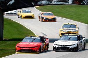 Justin Allgaier, JR Motorsports, Chevrolet Camaro BRANDT, A.J. Allmendinger, Kaulig Racing, Chevrolet Camaro Hyperice