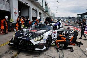 #9 GetSpeed Mercedes-AMG GT3: Janine Shoffner, Moritz Kranz