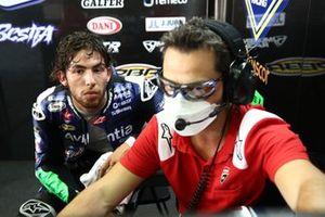 Enea Bastianini, Esponsorama Racing, mit Alberto Giribuola