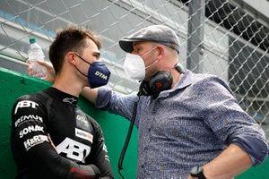 Kelvin van der Linde, Abt Sportsline with his manager Dennis Rostek