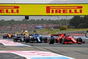 Carlos Sainz, Ferrari SF21, Esteban Ocon, Alpine A521, Pierre Gasly, AlphaTauri AT02