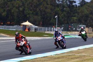 Scott Redding, Aruba.It Racing - Ducati, Toprak Razgatlioglu, PATA Yamaha WorldSBK Team, Jonathan Rea, Kawasaki Racing Team WorldSBK