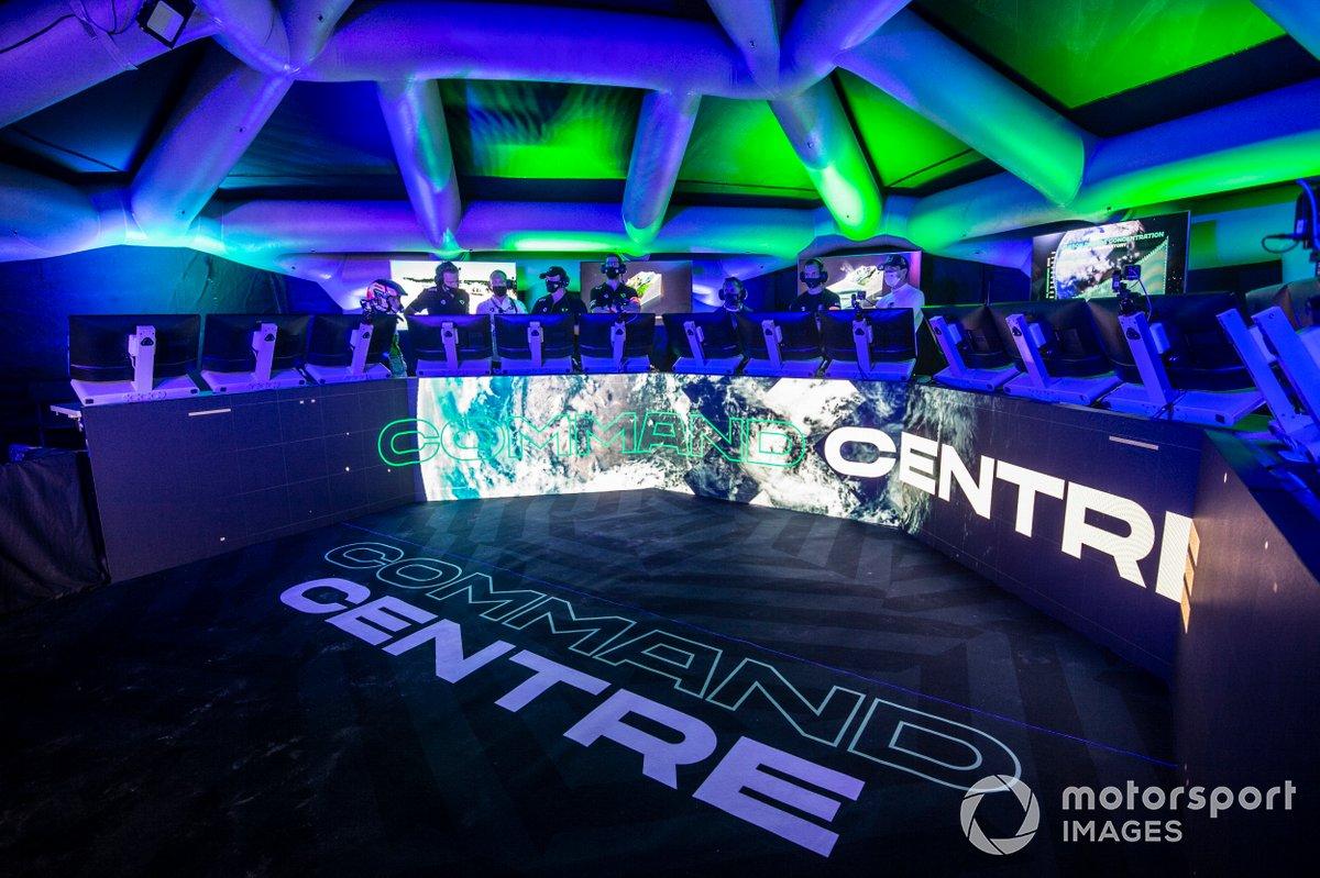 El centro de comando