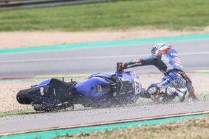 Crash of Garrett Gerloff, GRT Yamaha WorldSBK Team