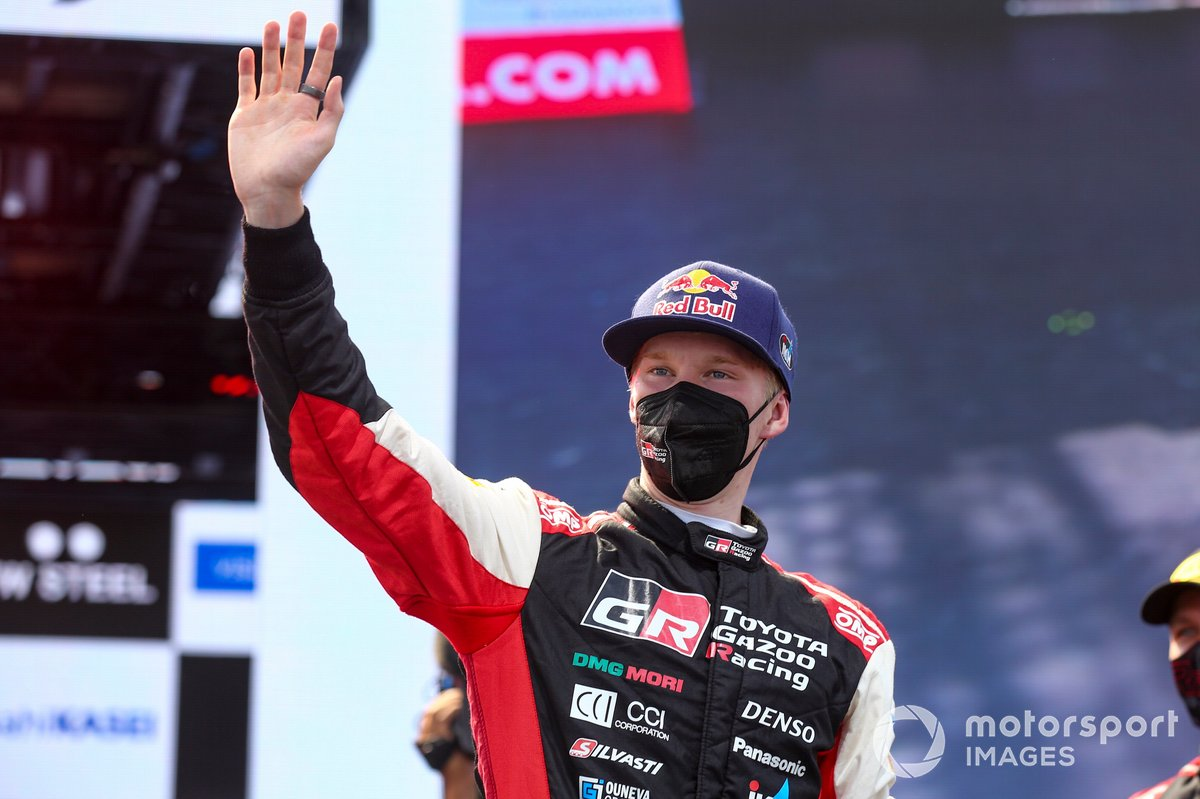 Ganador Kalle Rovanperä, Toyota Gazoo Racing WRT
