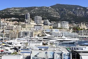 Philip Green's yacht Lionheart in the Monaco harbour