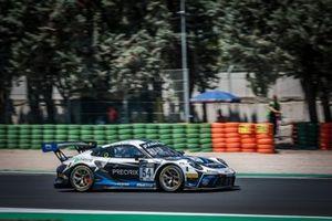 #54 Dinamic Motorsport Porsche 911 GT3-R: Adrien De Leener, Christian Engelhart