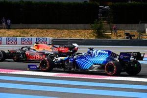 Max Verstappen, Red Bull Racing RB16B, Roy Nissany, Development Driver, Williams FW43B