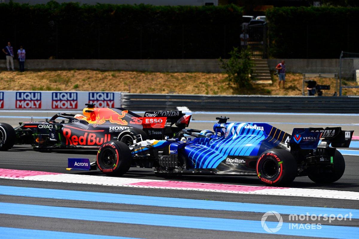 Max Verstappen, Red Bull Racing RB16B, Roy Nissany, reserva de Williams FW43B
