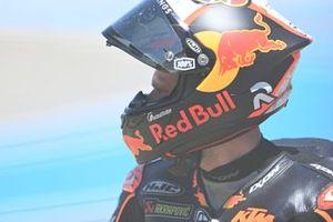 Sturz: Brad Binder, Red Bull KTM Factory Racing