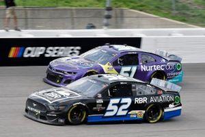Josh Bilicki, Rick Ware Racing, Ford Mustang and Cody Ware, Petty Ware Racing, Chevrolet Camaro NURTEC ODT