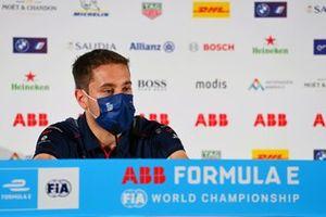 Robin Frijns, Envision Virgin Racing en la conferencia de prensa