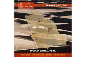 Le parcours du Dakar 2022