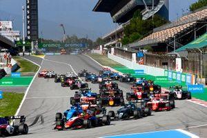 David Schumacher, Trident, Victor Martins, MP Motorsport, Matteo Nannini, HWA Racelab, Dennis Hauger, Prema Racing, Olli Caldwell, Prema Racing