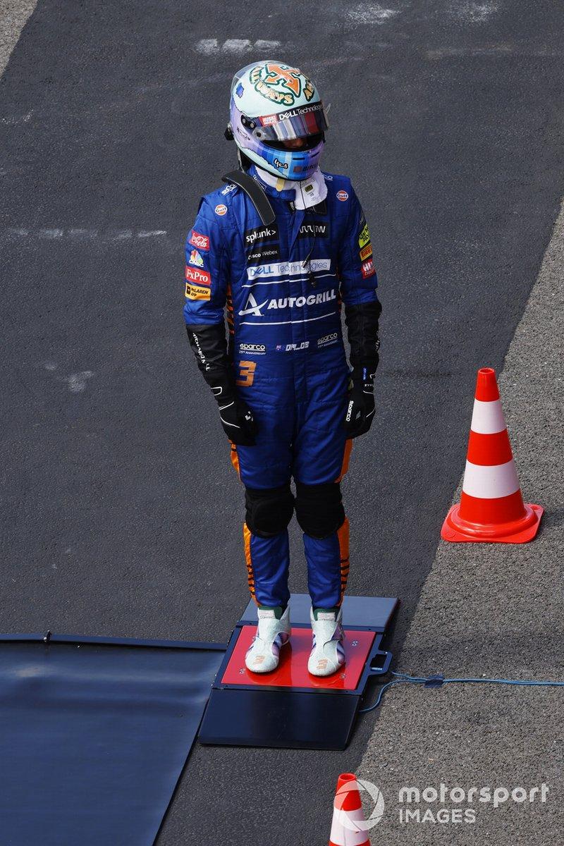 Daniel Ricciardo, McLaren, timbang badan