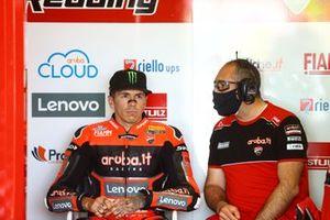 Scott Redding, Aruba.It Racing - Ducati, dans son box