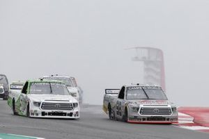 Christian Eckes, ThorSport Racing, Toyota Tundra Farm Paint/CurbRecords, Parker Chase, Kyle Busch Motorsports, Toyota Tundra Vertical Bridge
