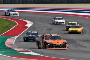 Daniel Hemric, Joe Gibbs Racing, Toyota Supra Poppy Bank, Jeb Burton, Kaulig Racing, Chevrolet Camaro Nutrien Ag Solutions