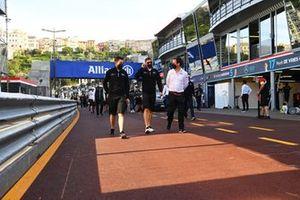 Edoardo Mortara, Venturi Racing, walks the track