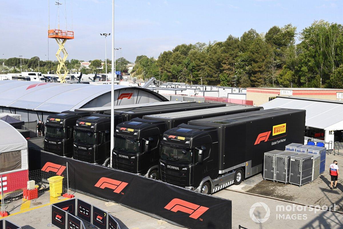 Camiones de Pirelli