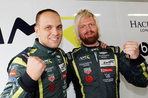 Pole position LMGTE Pro : #95 Aston Martin Racing Aston Martin Vantage AMR: Marco Sorensen, Nicki Thiim