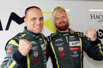 LMGTE-Pro polesitters #95 Aston Martin Racing Aston Martin Vantage AMR: Marco Sorensen, Nicki Thiim
