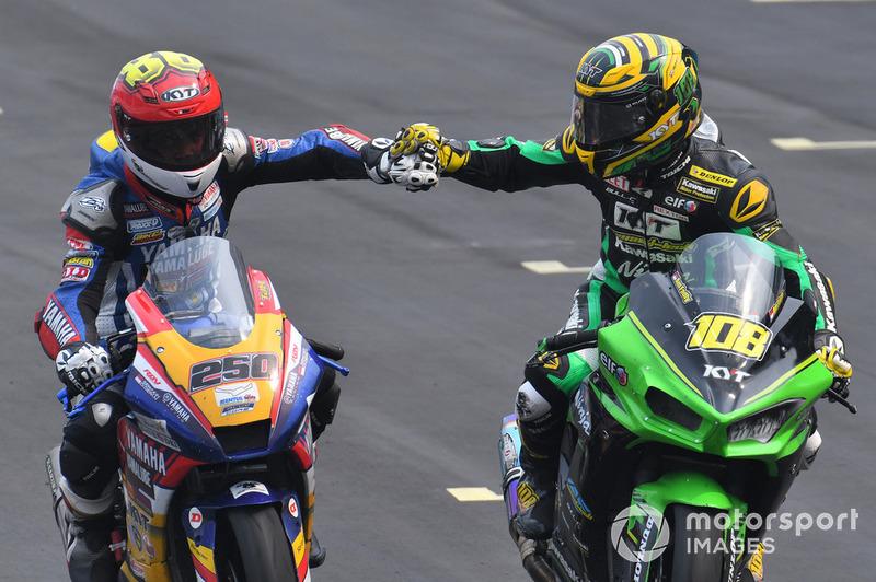 Rafid Topan Sucipto, Yamaha TJM dan AM Fadly, Manual Tech KYT Kawasaki Racing