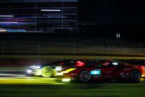 #66 Chip Ganassi Racing Ford GT, GTLM: Dirk Müller, Joey Hand, Sebastien Bourdais, #64 Scuderia Corsa Ferrari 488 GT3, GTD: Frank Montecalvo, Townsend Bell, Bill Sweedler