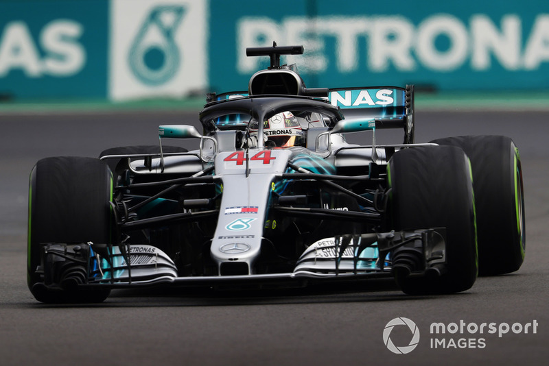 Lewis Hamilton, Mercedes AMG F1 W09 EQ Power+
