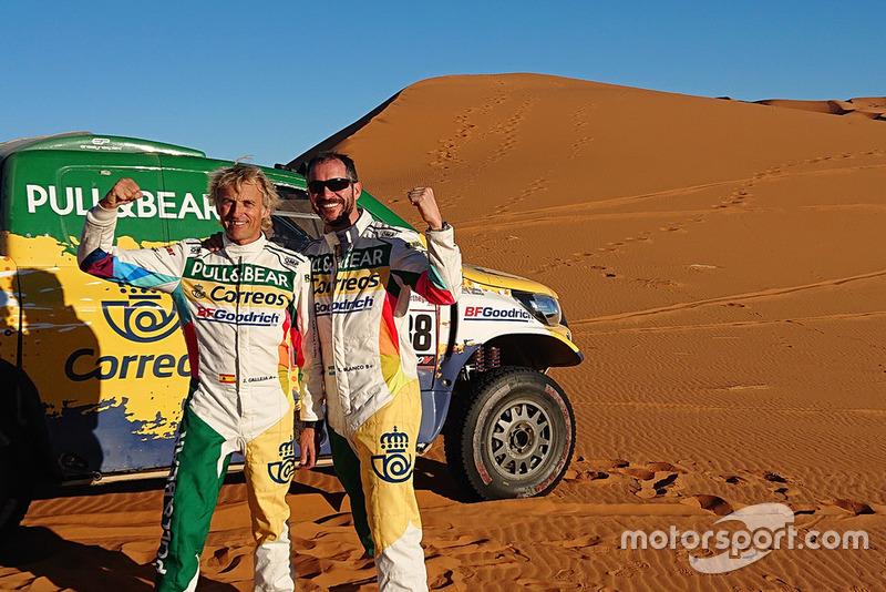 #437 Eduardo Blanco, South Racing Can-AM (en la foto, junto a Jesús Calleja)